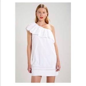 A&F one shoulder dress